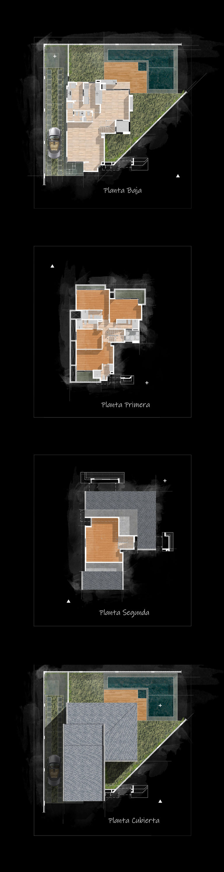 planimetria residencial enjoy_Alvaro de la Cruz Arquitectura y Diseño