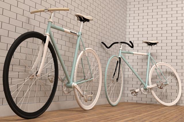 Fixie Bikes 3D_Alvaro de la Cruz